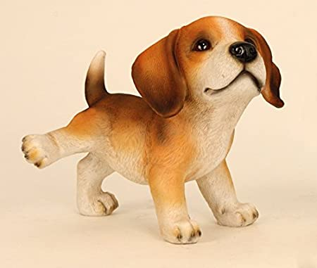 Dog Dogs Animal Beagle Decorative Garden Statue Sculpture PEEING French  Bulldog Statue Sculpture