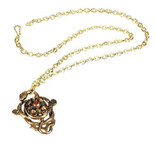 Master Replicas Pirates of the Caribbean Prop Replica Hector Barbossa's Pendant Necklace by Master Replicas]()