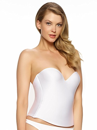 Low Back Strapless Bustier - 4