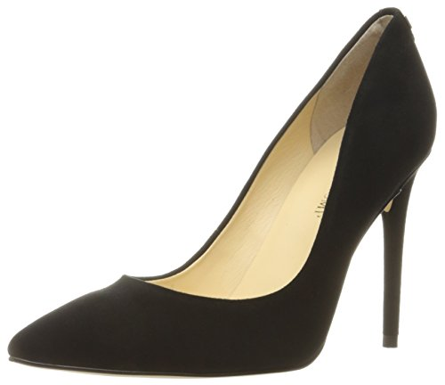 Ivanka Trump Women's Kayden Shoe, black suede, 7 Medium US by Ivanka Trump