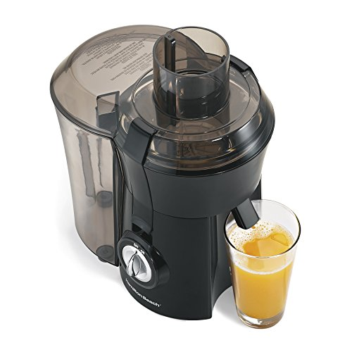 Hamilton-Beach 67601A Big Mouth Juice Extractor, Black