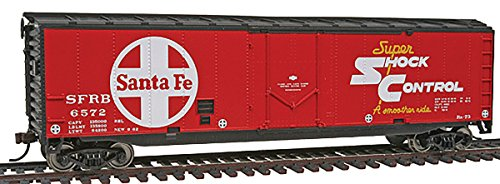 - Walthers Trainline 50' Plug Door Boxcar - Santa Fe #6572