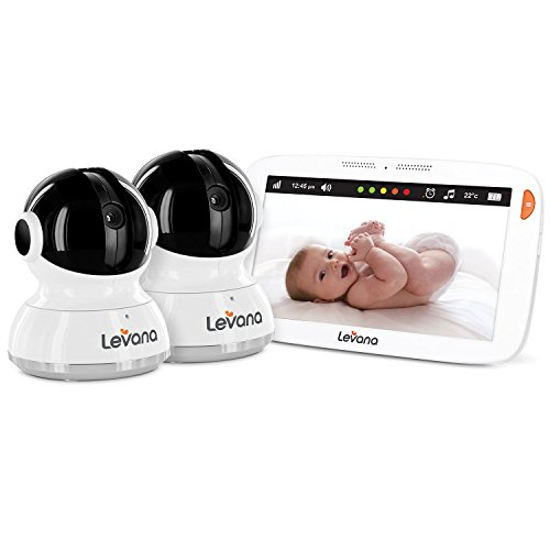 "Levana Aria 7"" Touchscreen with 2 Pan/Tilt/Zoom Cameras with"