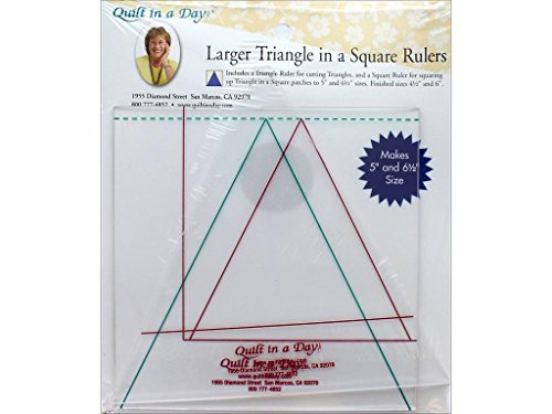 6 quilt triangle ruler - 3