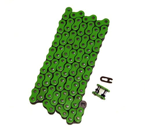 Factory Spec, FS-520-OGR, Heavy Duty Green O Ring Chain 520x64 ORing 64 Links