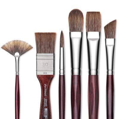Da Vinci Grigio Synthetic Brushes