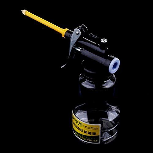 高圧ポンプ オイルポット 給油機 透明オイル缶 耐衝撃性 250g 300ミリ 4個