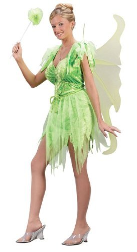 [Neverland Fairy Costume - Small/Medium - Dress Size 2-8] (Tinkerbell Fairy Costumes For Women)