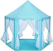 BREEZEE MARKET Castillo Carpa Casa Princesas Portatil. Castillo de Princesas Cute Interior Kids Play Tienda de