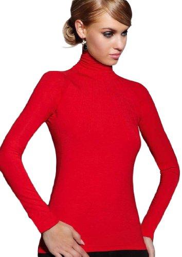 De la República de pecho en la parte superior y lencería para mujer blusa de Polo para hombre Casual Rosso