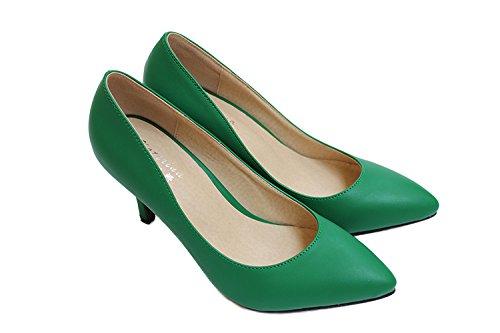 CFP - Sandalias con cuña mujer Verde Oscuro