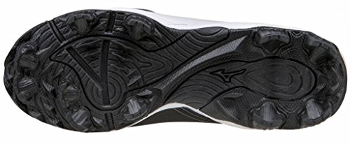 Mizuno 9-Spike Advance Franchise Mid 8 zwart outdoor schoenen dames