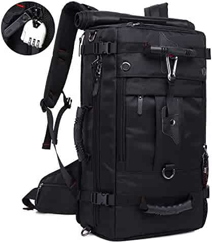 KAKA Travel Backpack Carry-On Bag Flight Duffle Bag Rucksack for Men Women