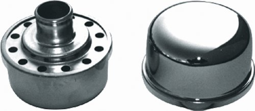 CSI C1700 Chrome Push-in Breather Cap - 1