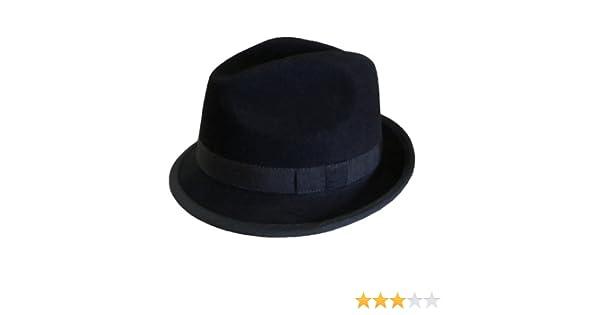6d990f9ed Barmah Hats Wool Stingy Brim Hat - 1603BL/1603RD