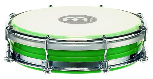 Meinl Percussion TBR06ABS-GR ABS Plastic 6-Inch Floatune Tamborim with Synthetic Head, Green by Meinl Percussion