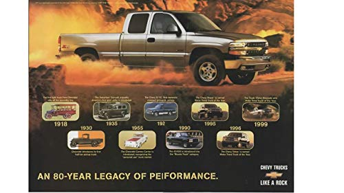 Pickup 454ss (Magazine Print ad: 1999 Chevy Silverado Pickup, Motor Trend Truck of the Year,