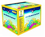 2014 fifa world cup ball - 2014 Panini FIFA World Cup Soccer Sticker Box (50 Packs, 7 stickers per pack)