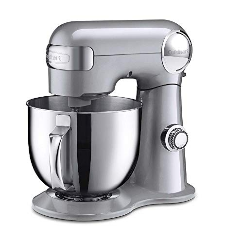 Cuisinart Precision Master 5.5-Quart Stand Mixer, Brushed Chrome (Cuisinart Stand Mixer Paddle)