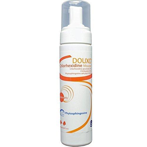 PET AntiSeptic Mousse Douxo Chlorhexidine + Climbazole Mousse (6.8 oz/200ml) ()