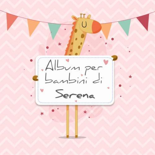 Album per bambini di Serena: Album bebé da compilare per il primo ...