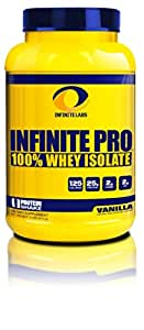 Infinite Labs Infinite Pro 100% whey Isolate, Vanilla, 2 lbs