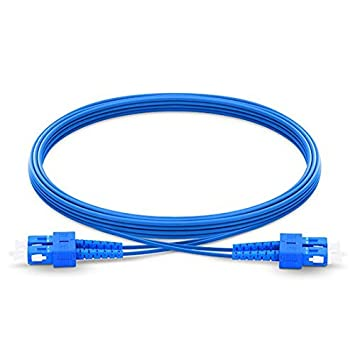 Fiber Patch Cord 2M SC-SC SC//UPC SM Duplex 9//125 Fiber Optic Cable scscdupsm-2m