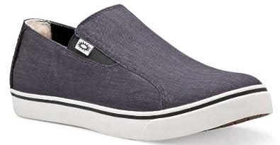 d291a60cd89 Amazon.com: UGG M Braken Canvas Black Black SIZE 13: Shoes
