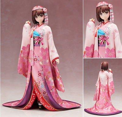TONGROU Aniplex Saenai Heroine no Sodatekata Katou Megumi Kimono Ver. Figure New In Box