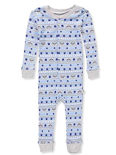 Duck Duck Goose Little Boys' Toddler 1-Piece Pajamas - Heather Gray, 2t -