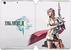 Cubierta de cuero y caja de la PC funda / soporte para funda de Apple iPad Mini 4 funda Con Magnetic reposo automático Función de despertador DIY por Final Fantasy Iii V1O4Yh7E6Sk
