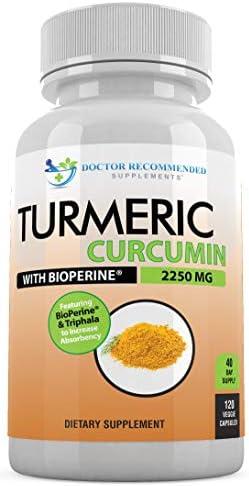 Turmeric Curcumin Curcuminoids Bioperine Supplement product image