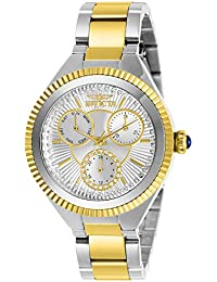Women's Angel Quartz Watch with Stainless Steel Strap, Two Tone, 16 (Model: 28350)