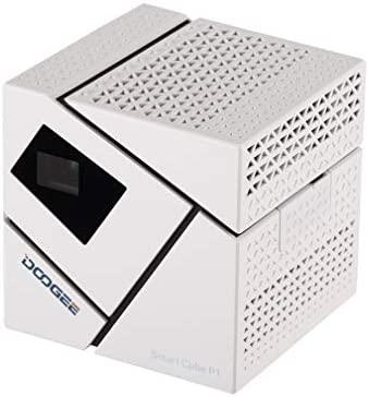 JICHUI Doogee Inteligente Cubo P1 FHD 3D Mini LED proyector de ...