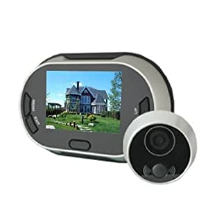 3 5 Quot Lcd Digital Video Door Viewer Doorbell Security