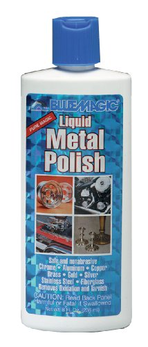 Blue Magic 200 Liquid Metal Polish - 8 oz.