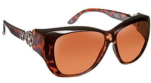 Haven Fitover Sunglasses Manhattan in Tortoise & Polarized Driving - Manhattan Eyeglasses