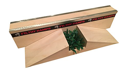 Filthy Fingerboard Ramps Washington Wall Gap Ramp for Tech Decks from