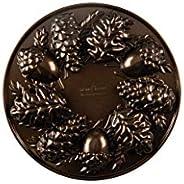 Nordic Ware Woodland Cakelet Pan, 2.25 Cup Capacity, Bronze