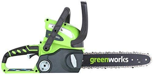 Greenworks 12-Inch 40V Chainsaw, battery Charger included 2000219