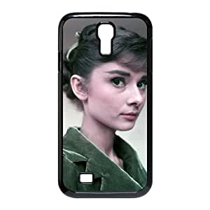 YYCASE Customized Audrey Hepburn Pattern Protective Case Cover for Samsung Galaxy S4 I9500