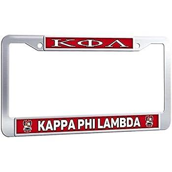 Amazon Com Phi Mu Alpha License Plate Frame Funny Car