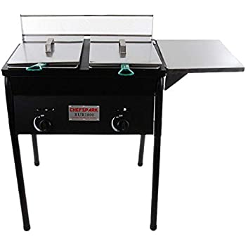 Amazon.com: Cajun Fryer 4 Gallon Deep Fryer With Stand And