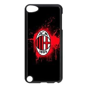 Xtvu iPod Touch 5 Case Black AC Milan Football