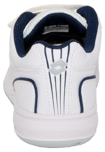 Lotto Set Ace Junior CL Klett, Garçon, Blanc/navy