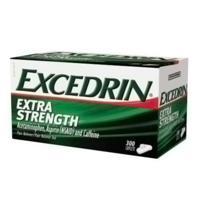 300 Coated Caplets - Excedrin Extra Strength, Headache Relief, Acetaminophen, Aspirin and Caffeine, 300 Caplets ()