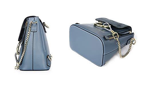 Blue Faux Womens de à Luxe SHELI Sac Leather Sac Bandoulière Trendy qHZvAXXx1w