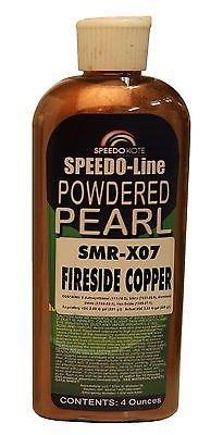 Fireside Copper Pearl for automotive base coats, 4 oz. bottle SMR-X07