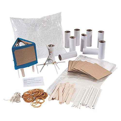 Egg Drop Science Kit (Makes 12) Egg Drop Project - Instructions Included