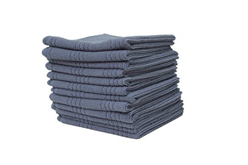 Microfiber Multi-Purpose Cleaning Cloths, Set of 12, 13x13